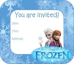 frozen invitations for birthday party theruntime com