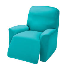 Turquoise Chair Sure Fit Stretch Pique Wing Chair Recliner Slipcover Hayneedle