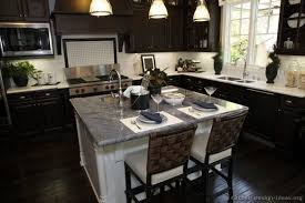 kitchen cabinet table top granite dark kitchen cabinets with light countertops stainless steel single