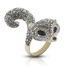 crystal diamond rings images Top quality fox diamond ring crystal engagement ring buy crystal jpg