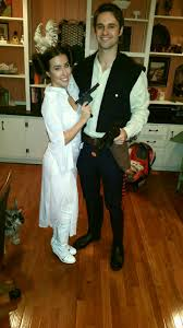 perfect princess leia and han solo halloween costume couples