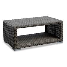 appealing wicker coffee table white outdoor with st thippo