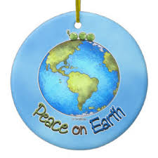 peace earth tree decorations ornaments zazzle co uk