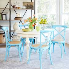 Coastal Dining Room Sets by Coastal Dining Room With Beachy Blue Chairs Gallery Also Beach