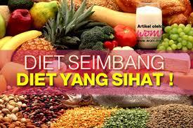 diet seimbang diet yang sihat http www wom my kecantikan diet