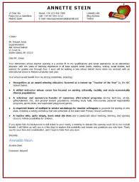 100 early childhood teacher cover letter child care