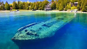 Lake Michigan Shipwrecks Map by 12 Creepy Shipwrecks You Can Explore In Ontario Narcity