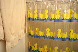 Duck Bathroom Decor Popular Shower Curtain For Kids Bathroom With Rubber Ducky Theme