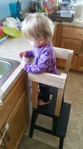 kitchen islands diy kitchen stools toddler kitchen helper step