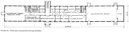 Physical Therapy Clinic Floor Plans Office Of Medical History Neuropsychiatry In Wwii