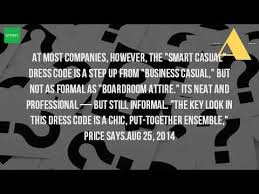 what is smart or business casual dress youtube
