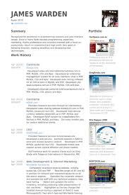 Mysql Dba Resume Sample by Contractor Resume Samples Visualcv Resume Samples Database