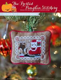 pen pals no 215 christmas eve delivery pdf cross stitch pattern