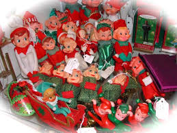 214 best elves images on pinterest vintage christmas pixies and