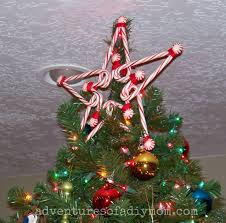Diy Christmas Tree Topper Ideas Candy Cane Star Tree Topper Adventures Of A Diy Mom
