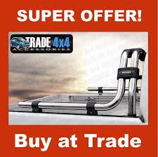 Nissan Navara Chunky Roll Bar Rollbar Stainless Steel Sahara D40