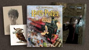 Barnes And Noble Book Finder Harry Potter And The Sorcerer U0027s Stone The Illustrated Edition Is