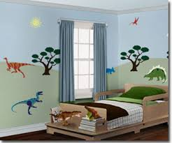 Dinosaur Bedroom - Kids dinosaur room