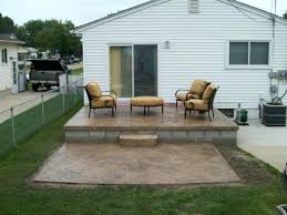 Small Backyard Patio Ideas On A Budget Backyard Redo On A Budget Redo Backyard Patio Design Concrete
