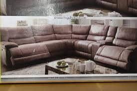 Sectional Sofa With Chaise Costco Costco Cheers Riverton 6 Reclining Sectional Frugal Hotspot