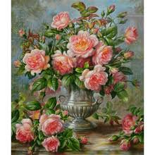 Flowers In Vases Pictures Online Get Cheap Vase Painting Designs Aliexpress Com Alibaba Group
