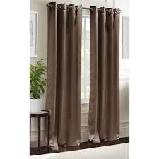 blackout curtains grommet window panel pair 38