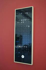 Cool Digital Wall Clocks 83 Best Office Interior Designs Images On Pinterest Office