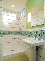 tile new green tile bathroom decor modern on cool contemporary