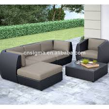 2017 hot sale outdoor furniture set garden sofa set in garden sofas