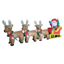 Christmas Yard Decorations Reindeer by Outdoor Christmas Decorations You U0027ll Love Wayfair
