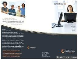 microsoft templates brochures cvletter csat co