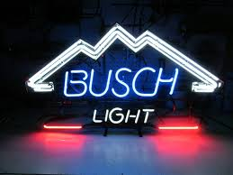 busch light neon sign busch light beer neon sign collectible nex tech classifieds
