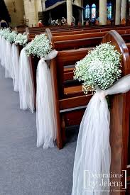 pew decorations for wedding 42 breathtaking church wedding decorations church wedding