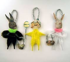 chenille easter chenille easter ornaments easter decorations easter bunny