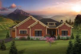 craftsman ranch house plans house plan 73137 at familyhomeplans com