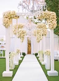 Wedding Entrance Backdrop Best 25 White Wedding Arch Ideas On Pinterest Chuppah Wedding
