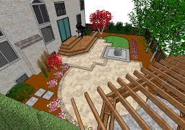 Virtual Backyard Design by Garden Design Garden Design With D Landscape Uamp Pool Designs D