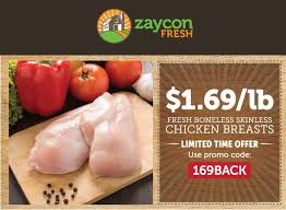fresh breast zaycon fresh chicken breast sale 1 69 a pound the clever