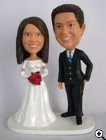cake toppers bobblehead custom wedding cake toppers bobblehead cake toppers headbobble