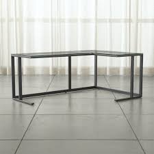 Seattle Corner Desk Shop Modern Desks For Home Offices Crate And Barrel