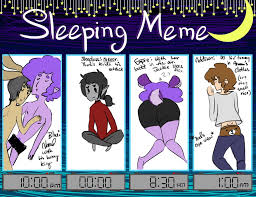 Couples Sleeping Meme - sleeping meme by askaddison on deviantart
