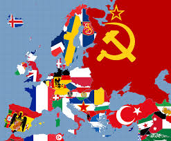 1939 Europe Map by Europe Flag Map 1950 By Fenn O Manic On Deviantart