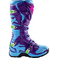 motocross youth boots fox racing 2016 youth comp 5y vicious se boots blue available at