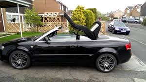 audi a4 cabriolet convertible b6 b7 roof opening with remote youtube