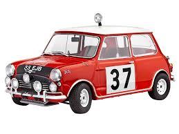 rally mini truck amazon com mini cooper winner rally monte carlo 1964 1 24 scale