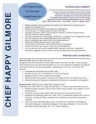 opening statement for resume example cover letter personal chef resume personal chef resume sample cover letter chef resume templates chef sample cv format cl chefpersonal chef resume extra medium size