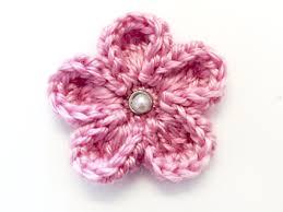 Tiny Flower Crochet Pattern - ravelry curled edge crochet flower pattern by rebecca langford