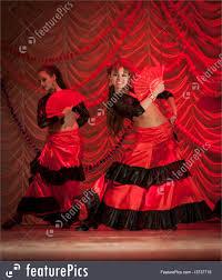 flamenco dancers photo