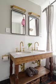 brass bathroom mirror brushed brass bathroom faucets bathroom contemporary with