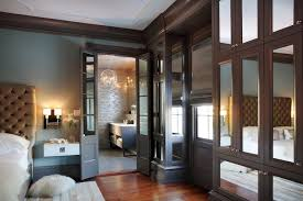 dark wood trim interiors design
